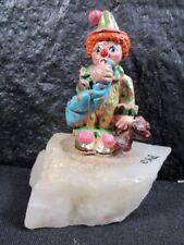"JuDi "" Nowhere To Go "" Clown Figurine / Sculpture - Excellent Art Work"