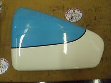 VICTORY LEFT SIDE (BATTERY) FRAME COVER,TEAL/WHITE,'02 V92C,USED,#1013280-A13.#