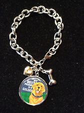 NEW Golden Retriever Charm Bracelet