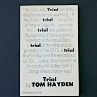 Trial by Tom Hayden - 1970 First Edition Paperback VG