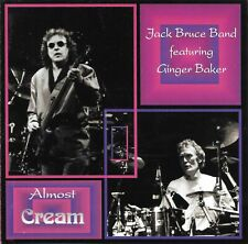 JACK BRUCE BAND FEATURING GINGER BAKER Almost Cream Live NYC 1989 Import 2 CD