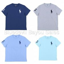 Polo Ralph Lauren Mens Crew Neck T-Shirt Embroidered Big Pony Logo