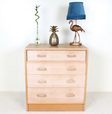 Retro Vintage Chest of Drawers E GOMME Light Oak Moderne G PLAN