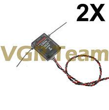 2x Satellite for F701 S603 CM703 DSMX Receiver 2.4 GHz Receiver K116 x2