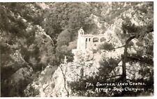 RPPC,Switzer-Land,CA.Stone Chapel,Arroyo Seco Canyon,San Gabriel Mountaiins,'20s