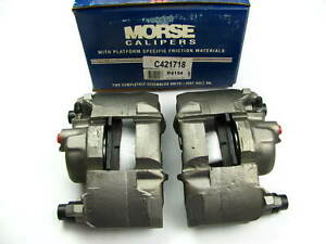 Remanufactured Morse P4194 Front Disc Brake Caliper Set Loaded With Brake Pads