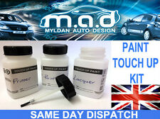 SILVER ALLOY WHEEL TOUCH UP KIT REPAIR KIT PAINT WITH BRUSH CURBING SCRATCH