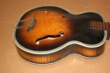 Vintage Harmony Archtop Acoustic Guitar Usa American
