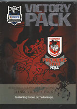 St.George Dragons PREMIERS NRL 2010 VICTORY PACK 4 Disc