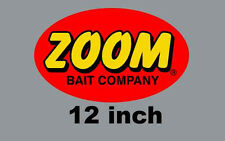 "12"" Zoom Quality Decal Sticker Tackle Box Lure Fishing Boat Truck trailer Baits"