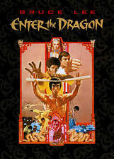 Enter The Dragon Classic Bruce Lee Martial Arts Action Movie Dvd, New Old Stock