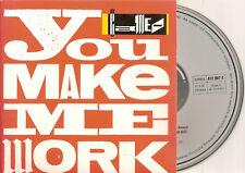 CAMEO - you make me work CD SINGLE 3TR CARD 1988 RARE