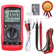 Uni T Ut107 Portable Digital Automotive Tester Voltage Temp Multimeter Meterkd