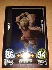Force Attax Star Wars Serie Movie 3 Star-Karte 214 Yoda Sammelkarte