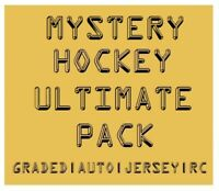 MYSTERY HOCKEY ULTIMATE PACK | Graded/Auto/#'d/Jersey BIG Hits | $350-$900 BV