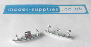 Spot On 185 Fiat 500 Reproduction Chromed Front Grille Rear Bumper