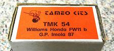 Tameo 1/43 Williams Honda FW-11B 1987
