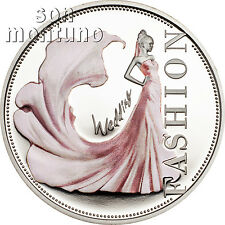 Fashion World WEDDING Sterling Silver $1 Dollar Proof Coin in BOX+COA 2013 Niue