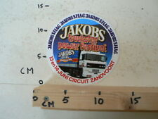 STICKER,DECAL DAF 3600 ATI JAKOBS TRUCKSTAR POWER FESTIVAL SHAG ZANDVOORT