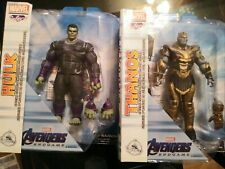 Marvel select thanos and hulk figure 2019 Disney store