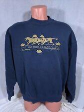 Vtg 90s 400 Triple Crown Sweater Sz XL Made In USA Zovirax Tablets 400mg Acyclov