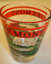 Vermont Shot Glass Shooter Travel Souvenir Colorful Red Green Black Taiwan
