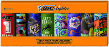 Bic Special Edition Flick My Bic Series Lighters, Set of 8 Lighters