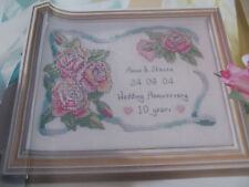 Wedding Anniversary - Sampler  - Cross Stitch Chart by Joanne Sanderson