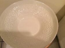 Umbriaverde Ceramiche Bowl - Umbriaverde Italian Pottery Soup Bowl Scrolls Decor