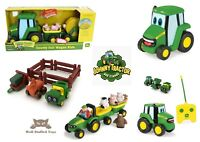 Tomy John Deere Pre-school Tractor Play Sets and vehicles Farm Toys 18M - 3 Year