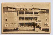 Old postcard Park Street Hotel, Thomaston, Connecticut