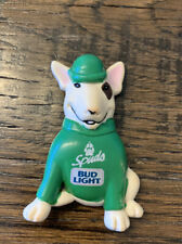 Vintage Spuds MacKenzie Bud Light Pin Green St Patrick Anheuser Busch 1987