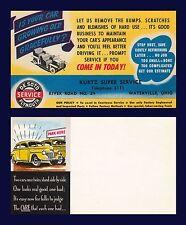 US OHIO WATERVILLE KURTZ SERVICE STATION RIVER RD DESOTO PLYMOUNT CIRCA 1938