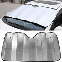 EG_ FRONT CAR SUNSHADE WINDSHIELD ANTI-UV SHIELD SUN SHADE ALUMINUM FOIL COVER K