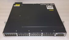 Cisco WS-C3750X-48PF-L Catalyst 3750 48-Port Gig Ethernet PoE+ Switch C3KX NM-1G