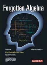 NEW - Forgotten Algebra by Bleau, Barbara Lee