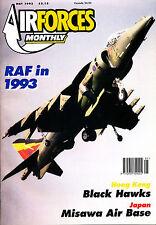 AIRFORCES MONTHLY 62 MAY 1993 Misawa AB Japan,RAF 1993,Babram Floggers,Parow AB