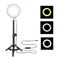 Zomei Selfie Dimmable Ring Light for Video Shooting Makeup YouTube Live 6""