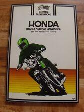 Clymer 1972 73 74 75 76 HONDA 350-550 CC FOURS MOTORCYCLE Service Repair Manual