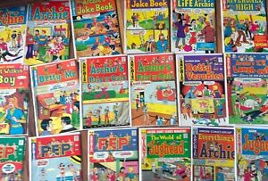 19 1970's Archie Comics lot all mid to high grade Original OWNER