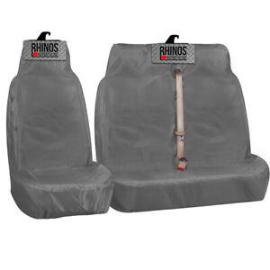 VAUXHALL VIVARO 2014 2015 - Grey Heavy Duty Van Seat Covers 2+1 100% WATERPROOF