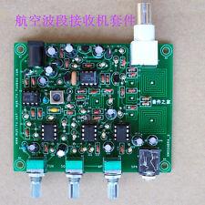 NEW Diy kit , Air band receiver,High sensitivity aviation radio 118-136MHz AM