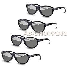 4 Pairs LG Cinema AG-F310 3D Polarized PASSIVE GLASSES for LG TCL LCD LED TV
