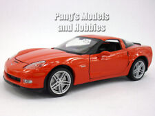 Chevrolet Corvette Z06 (2007) 1/24 Scale Diecast Metal Model - RED