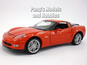 Chevrolet Corvette Z06 (2007) 1/24 Scale Diecast Metal Model - RED
