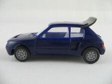 Herpa Peugeot 205 Turbo (1984) en Bleu 1:87/h0 NOUVEAU/neufs, spécial Couleur