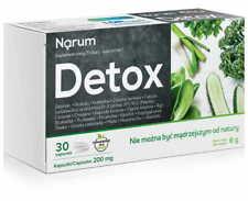 Narine, Probiotic, Narum Detox 200 mg, 30 caps FREE P&P
