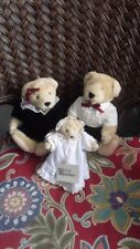COLLECTIBLE FUZZY, FLUFFY AND MUFFY VANDERBEAR - NORTH AMERICAN BEAR COMPANY