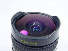 Lens MC Zenitar-N 2.8 16mm Fish Eye. Nikon bayonet mount. s/n 103110.