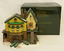 Dept 56. The Grapes Inn 5th Edition Dickens Village Lighted Building #57534 Mib